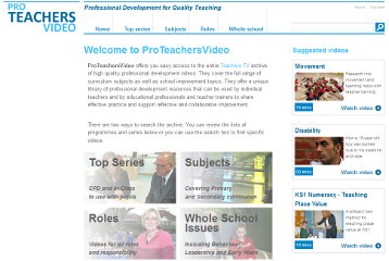 ProTeachersVideo screenshot